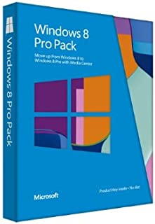 【旧商品】Microsoft Windows 8 ProPack(Windows 8からWindows 8 Pro) 発売記念優待版 [プロダクトキーのみ] [パッケージ]