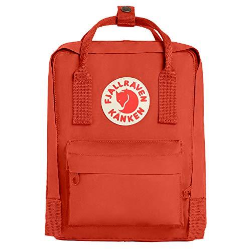 Fjallraven, Kanken Mini Classic Backpack for Everyday, Rowan Red