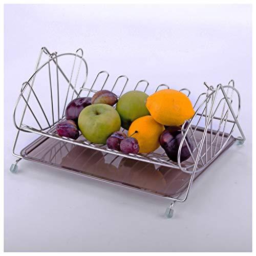 MWG Panier à Fruits en métal évider la Cuisine Vidange à légumes Panier à Linge Filtre à Eau Panier à Fruits