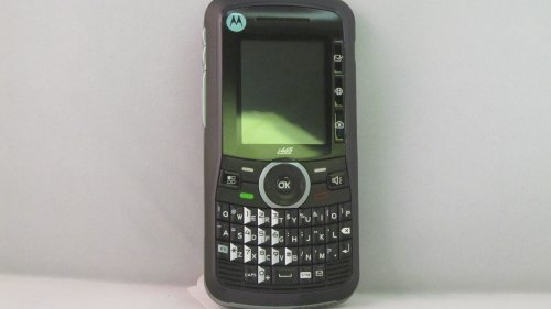 Motorola Clutch i465 No Contract Camera QWERTY PTT Cell Phone Boost Mobile