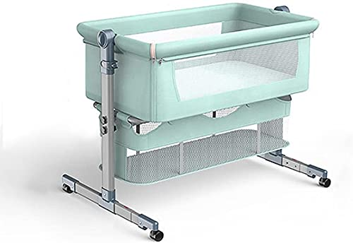 NYCUABT Cuna de Viaje Cuna para bebé Cama de Cama Multifuncional portátil Portátil y Plegable para bebés recién Nacidos y niños pequeños con Bolsa de Transporte