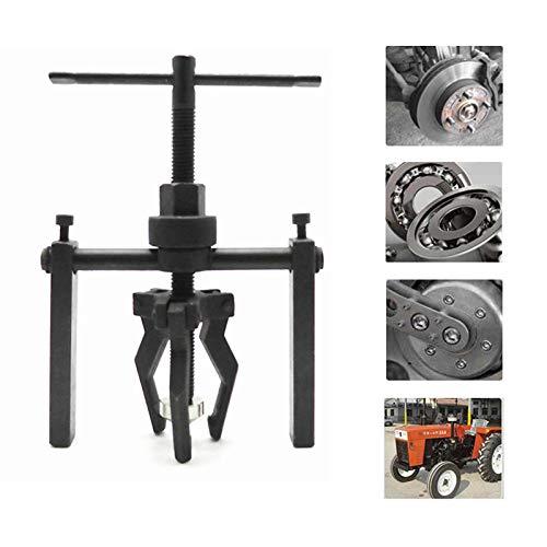 MR CARTOOL - Extractor de rodamientos interior con 3 mandíbulas para coche, moto, coche, coche, extractor de cojinete interior de acero al carbono