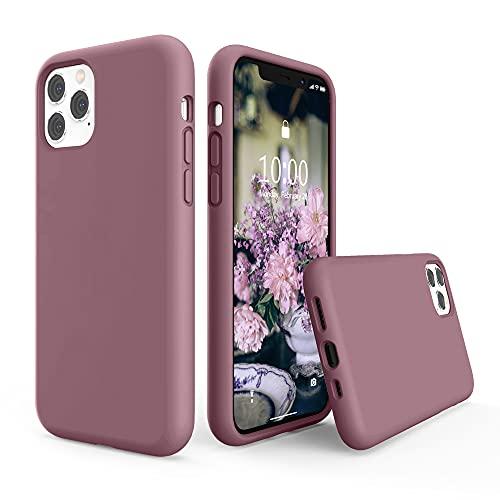 SURPHY iPhone 11 Pro Hülle, iPhone 11 Pro Hülle Silikon, iPhone 11 Pro Hülle, Liquid Silikon Handyhülle für iPhone 11 Pro 5,8 Zoll (2019) iPhone 11 Pro Silikon Schutzhülle Schutzschale, Flieder Lila