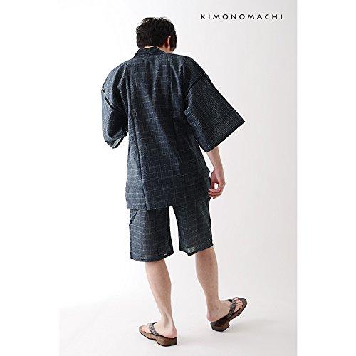 京都きもの町『綿麻甚平(007248)』