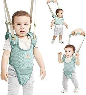 Yealeo Bebé Caminar Arnés, 2-in-1 Seguridad Asistente Niños Andador para 7-24 meses, Baby Walking Assistant (A-Verde)