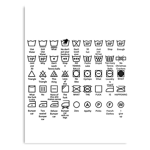 Amusing Humor Amazing Funny Machine Fun Detergent Washing Wash - The Best and Newest Poster for Wall Art Home Decor Room I - Customize