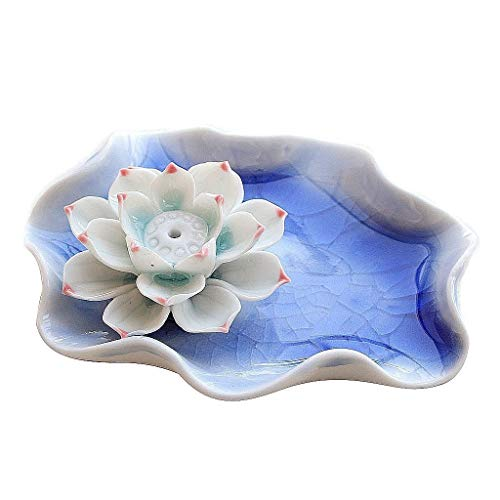 Best Prices! Burner Incense Burner Incense Burner Ceramic Creative Sleeping Lotus System Ice Crackin...