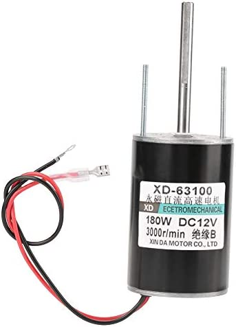 12 24V 150W High Speed CW CCW Permanent Magnet DC Motor for DIY Generator 3000RPM 12V product image
