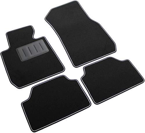 ilTappetoAuto by Fabbri3 - SPRINT00302 - Compatible avec Tapis de Voiture sur Mesure en Moquette Noire pour BMW Série 1