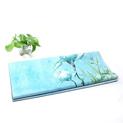Bedrukt suède antislip natuurrubber yogamat opvouwbare handdoek draagbare yogamat yogadeken yoga benodigdheden