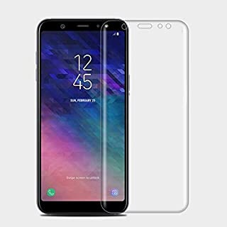 Phone Screen Protectors - for Galaxy A6 Plus 0.3mm 9H Surface Hardness 3D Curved Edge Tempered Glass Film for Galaxy A6+ (...