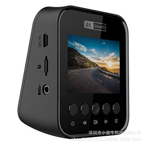 Versteckte 4k Dashcam Front 4k-1080p Full Hd Nachtsicht Eingebaut GPS WiFi Diese Maschine Doppelaufnahme