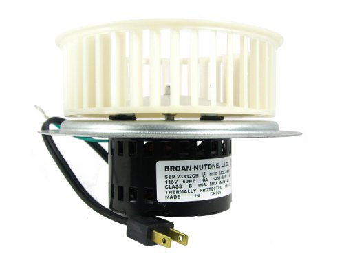 NuTone 0696B000 Motor Assembly for QT100 and QT110 Series Fans
