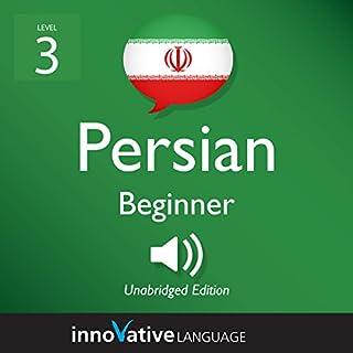 Learn Persian - Level 3: Beginner Persian audiobook cover art