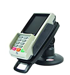 """3"""" High Pole Mount, Tilts 140° Lifts payment device off the counter to improve interaction Securely holds the terminal in place with custom plate Pole Part #ASS90121 (Replaces Part #ASS90101) PEDPack Part #CST00132"""
