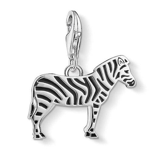 THOMAS SABO Damen-Anhänger Zebra 925 Silber - 1416-007-11