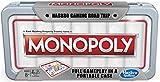 Hasbro Gaming Road Trip Series Monopoly Game Juego de Mesa portátil para Llevar en Movimiento para niños Mayores de 8 años