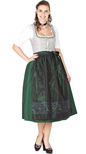 15393 Wenger Dirndl Julia 80er moosgrün Size 36