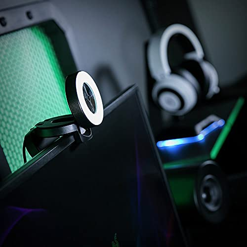 Razer Kiyo - Desktop Streaming Camera with Ring Light - High FPS HD Video - US
