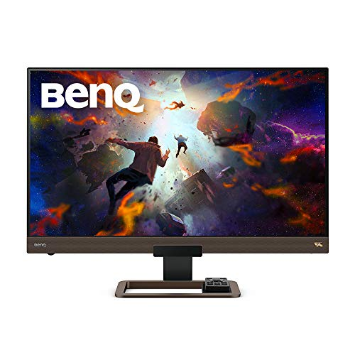 BenQ EW3280U 32 inch 4K Monitor | IPS | Multi Media with HDMI connectivity HDR Eye-Care Integrated Speakers and Custom Audio Modes (Personal Computers)