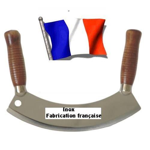 Couteau hachoir berceuse professionnel inox France