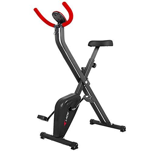 Tingeart Ultrasport Unisex F-Bike, Bicicleta De Ejercicio Profesional Ajustable con Pantalla LCD, SillíN Extra Confort, Altura Regulable, para Atletas Y Mayores, 70 * 41 * 110Cm 238