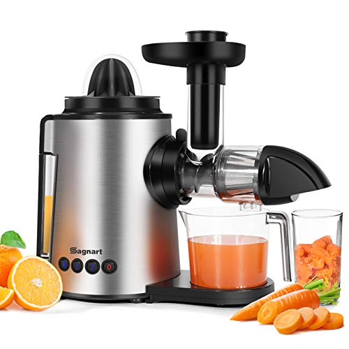 Juicer Machines 2 in 1 Slow...
