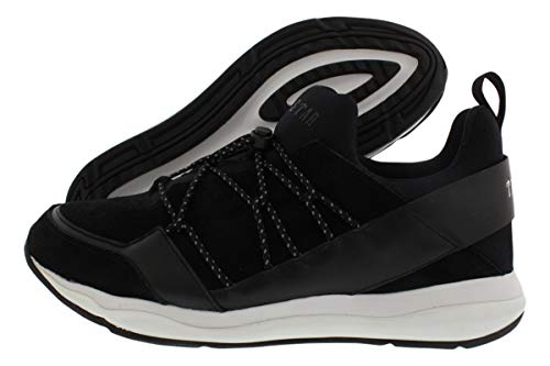 Puma Men's Cell Bubble X Trapstar Black/White Ankle-High Suede Running Shoe - 9M
