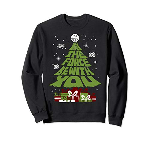 Star Wars May The Force Be With You Christmas Tree Sweatshirt