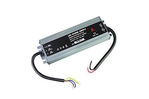 Dapenk Caja de Aluminio Ultra-Delgada para Exteriores Impermeable 12V 120W Serie CLPS Led Fuente de alimentación PSU para Bombillas LED Luz de Tira (CLPS120-W1V12)
