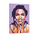 laoyinbi Lauryn Hi-ll Poster, dekoratives Gemälde,
