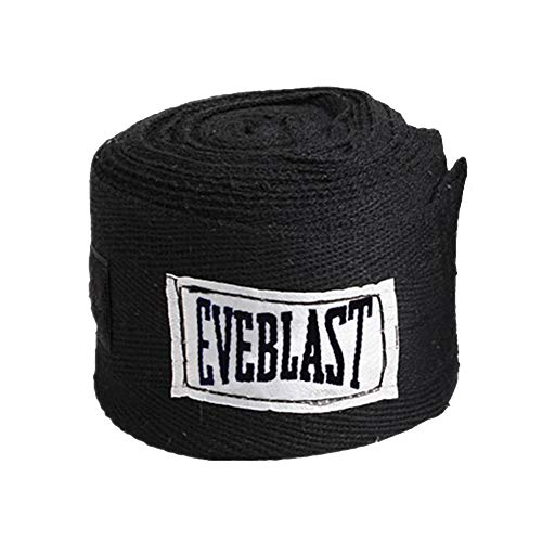 LZMMLZ Elastic Vendas De Boxeo Negro Vendas De Boxeo Flexible Cinta De Boxeo Flexible Negro De Velcro Muay Thai Vendajes Mitones Artes Marciales Gimnasio Fitness 3 Meter Negro