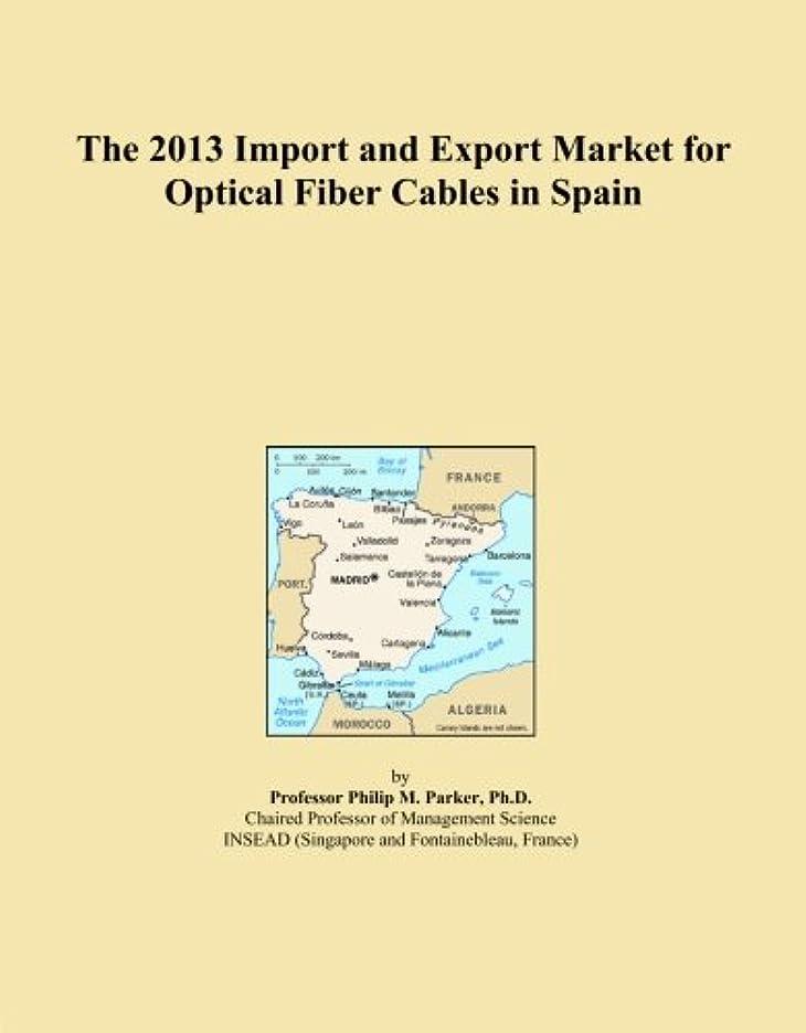 整理する枕有益The 2013 Import and Export Market for Optical Fiber Cables in Spain