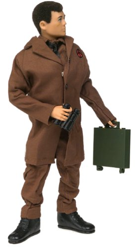 "12"" GI Joe Adventure Team Undercover Agent Timeless Collection Action Figure with Kung Fu Grip Boxed Set"
