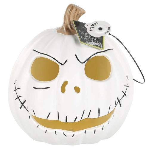 The Nightmare Before Christmas Jack Skellington Halloween Light Up Pumpkin 10'