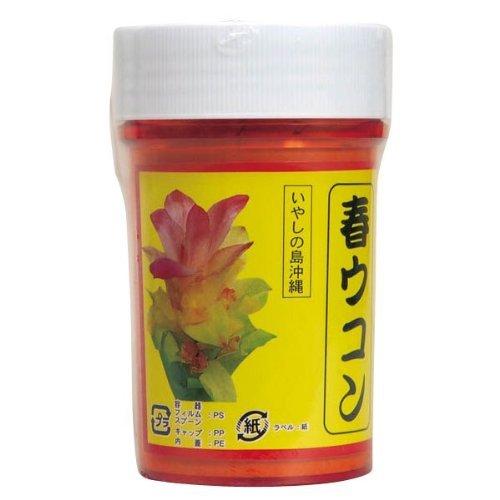 春ウコン粉 (容器入) 100g×10個 比嘉製茶 精油成分やクルクミン含有 美容・健康維持におすすめの春ウコン