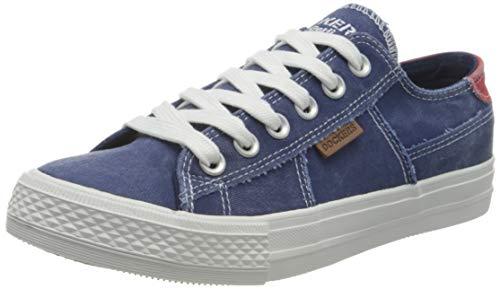 Dockers by Gerli Damen 40th208-790660 Sneaker, Navy, 38 EU