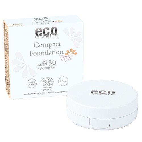 Eco Cosmetics Fond De Teint Compact Indice De Protection 30 10g