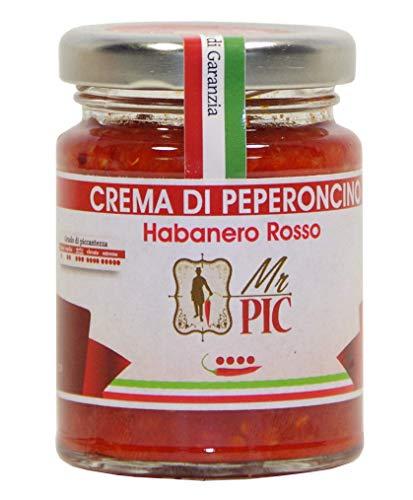 Crema di peperoncino Habanero Rosso (90 g) - Mr PIC: il Peperoncino Toscano di alta qualità - Carmazzi: la più ampia linea di prodotti piccanti in Italia