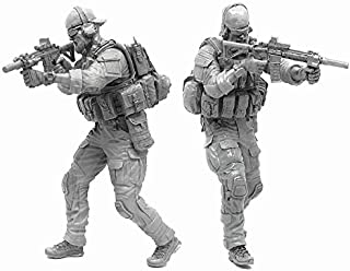 1:35 Scale Military Models Iraq War Afghanistan US Special Forces Operator Soldier Resin Figure Plastic Unassembled Model Miniature Set