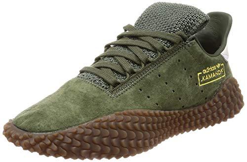 adidas Kamanda 01, Zapatillas de Deporte para Hombre, Verde (Verbas/Balcri 000), 42 2/3 EU