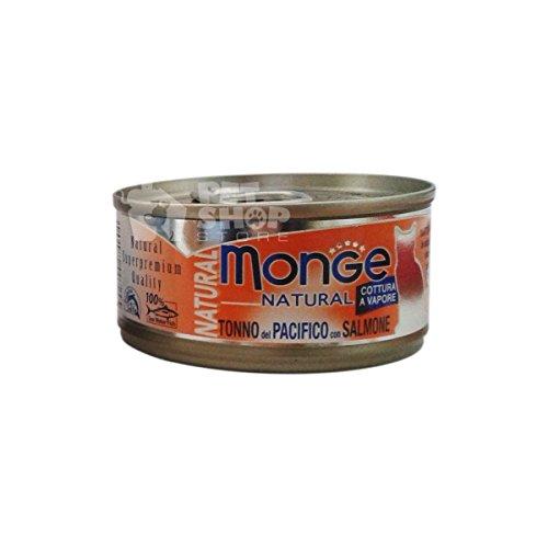 Monge Gatto Naturale Gr 80 Tonno Pacif./Salmone
