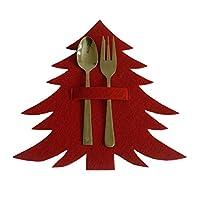 ★ Decorazioni natalizie: puoi conservare il culmine in questa custodia per decorare il tuo tavolo da pranzo. ★ Aumento dell'appetito: metti le tue posate nella borsa e mettile sul tavolo, aumentando l'appetito. ★ Unico e raffinato: la custodia è real...