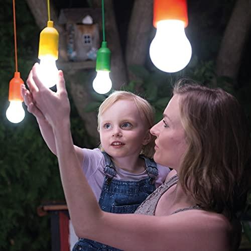 Handy Lux Colors kabellose LED Leuchte in 4 Gehäuse Farben   8 Stück Lampen   Safe touch Oberfläche   Bruchfest   Garten, Camping, Party, Kleiderschrank   Das Original aus dem TV von Mediashop - 2