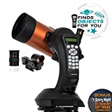 Celestron - NexStar 4SE Telescope - Computerized Telescope for Beginners and Advanced Users - Fully-Automated GoTo Mount - SkyAlign Technology - 40,000+ Celestial Objects - 4-Inch Primary Mirror