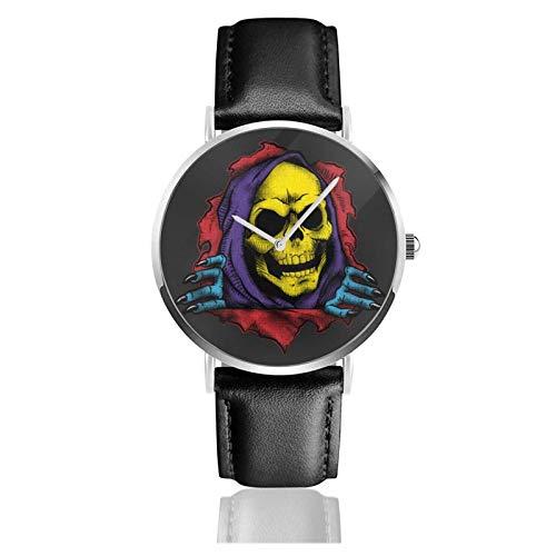 Reloj de Pulsera Sk8letor, Temporizador, Deportes, Adolescentes, Estudiantes, Reloj de Cuarzo con Pilas, 38 mm de diámetro