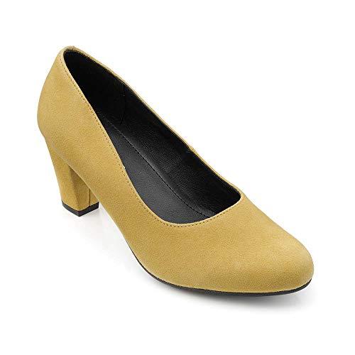 Hotter Damen Joanna Pumps, Gelb (Mustard 366), 43 EU