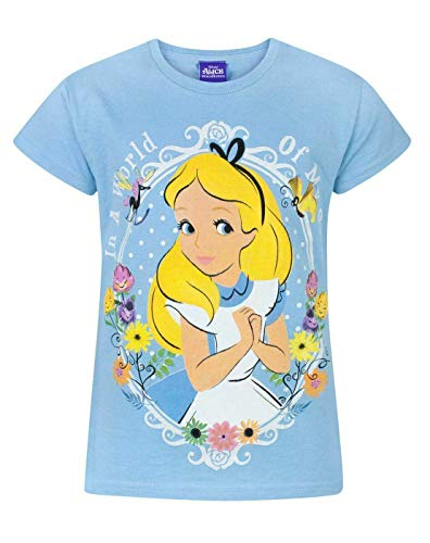 Disney - Camiseta de Alicia en el País de Las Maravillas Modelo World of My Own para niñas