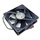 Foxconn PVA092G12H 92x92x25mm PWM DC12V 0.4A 4wire 4pin for Dell HP cooling fan