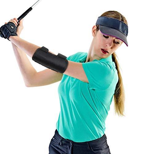 Cdofa Golf Swing Trainingshilfe,Golf Swing Trainer,Straight Arm Golf Training Aid und Tik-Tok Soundbenachrichtigungen, Golf Swing Haltungskorrekturhalterung für Anfänger